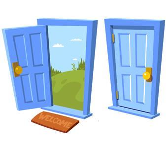 Open close door